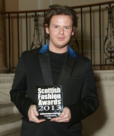 Modeconnect.com Fashion News – October 11, 2013 – Of Course Christopher Kane is crowned Scottish Designer of the Year 2013