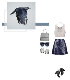 """""""Still Sane"""" by duciaxoxo ❤ liked on Polyvore featuring Topshop, Paul Andrew, Baja East, Grey Ant and Givenchy"""