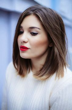Balayage short dark hair. I love this short hairstyle, but i don't know if I go into it?..