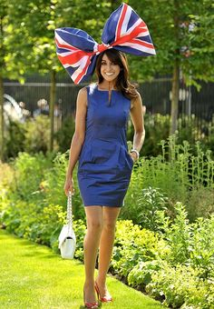 Racegoer Jackie St Clair during day one of the 2012 Royal Ascot meeting at Ascot Racecourse, Berkshire.