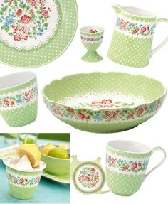 plate, kitschen, polka dot, dotted, puantiye, mutfak, dekor, green