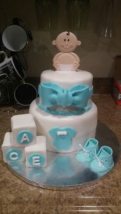 Its a boy baby shower cake little man theme. Chocolate and vanilla cake with buttercream