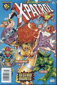 Amalgam Comics - X-Patrol