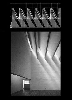 Pin by Lindsey Dalio on Dach Shadow Architecture, Study Architecture, Architecture Drawings, Light Architecture, Architecture Details, Interior Architecture, Roof Design, Ceiling Design, Light Study