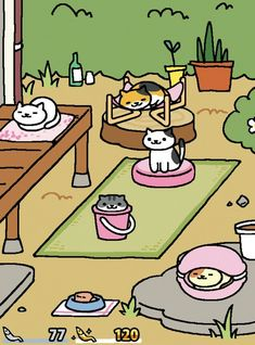 Good news, crazy cat people! An app called Neko Atsume: Kitty Collector has recently been released in English and it's glorious.   The Most Adorable App Ever Is Here And All You Do In It Is Collect Cats