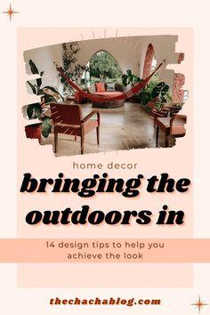 """One of my favorite interior design styles is one that seriously plays on that clean """"bungalow"""" look, all about bringing those natural textures and textiles inside. Interior design, interior…"""
