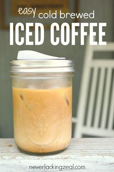 easy cold brewed ice