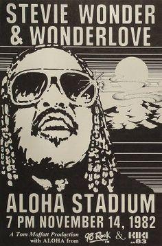 Stevie Wonder Wonderlove at Aloha Stadium 1982