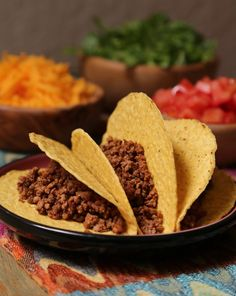 A beef taco you can get out on the table in no time.