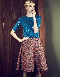 Full Jacquard Skirt- like skirt not pattern