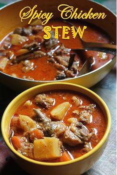 YUMMY TUMMY: Spicy Chicken Stew Recipe