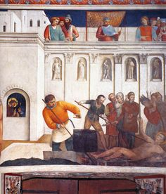 Martyrdom of St. Lawrence, 1447-1449 - Fra Angelico