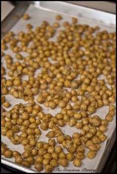 Clean Eating Recipes | Clean Eating Roasted Chickpeas