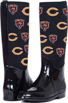 Chicago Bears The Enthusiast II Rain Boots