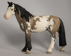 Check out our schleich horse selection for the very best in unique or custom, handmade pieces from our animals shops. Toy Horse Stable, Schleich Horses Stable, Horse Stalls, Horse Barns, Horse Tack, Clydesdale Horses, Cute Horses, Beautiful Horses, Horse Saddles