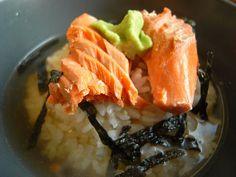 SALMON OCHAZUKE (TEA RICE) from food52