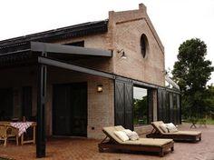 Casa de Campo estilo industrial. Estudio Prágmata. Arquitecta Carolina Peuriot Bouché