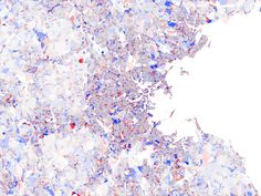 okay, this is actually a population graph overlay on a map of Boston... but isn't it beautiful?