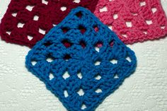 3-Round Granny Square, free crochet pattern by the Crochet Architect