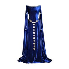 Medieval Dress ❤ liked on Polyvore featuring dresses, medieval, gowns, costumes and medieval dresses