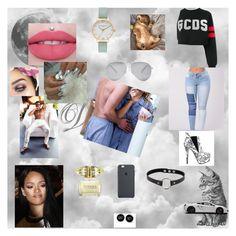 """little me 54"" by nikoleta-nicky-malik ❤ liked on Polyvore featuring GCDS, Humör, Olivia Burton, Versace, Retrò and Victoria Beckham"