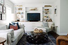 cozy, Scandinavian-inspired living room