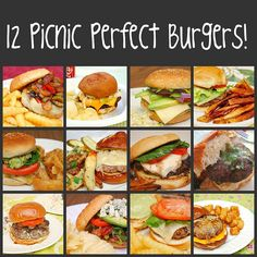 What's Cookin, Chicago?: 12 Picnic Perfect Burgers!