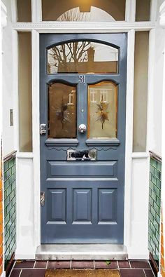 Our front doors are beautifully designed and quality handcrafted. If you are looking for a new timber front door we. Timber Front Door, Hardwood Front Doors, Green Front Doors, Wooden Front Doors, Front Door Entrance, Glass Front Door, Glass Doors, Retractable Door, Front Door Lighting