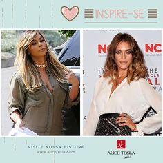 Inspire-se na Kim Kardashian e na Jéssica Alba, se joga na cor e no corte novo!!!