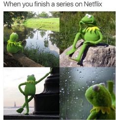 When you're done binge-watching a show on NetFlix