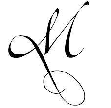 tatuaje letras cursiva m - Buscar con Google