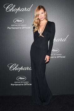 Natasha Poly   Chopard Party   Cannes Fashion - Red Carpet Dresses at Cannes 2014 - Harper's BAZAAR