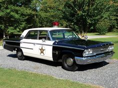 1963 Ford Galaxie Squad Car - tribute to mayberry car and andy griffth show