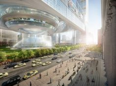 SOM proposes to fantastically expand penn station