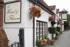 The Hand & Flowers, Marlow, England