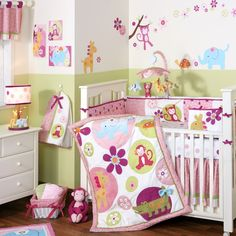 girl jungle nursery ideas | girl jungle themed nursery so stinkin cute repinned from ideas for ...