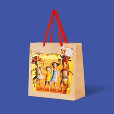 An artistic depiction of a family in tribal costumes and with painted faces, celebrating one of the most popular fiestas in the Philippines, the Ati-atihan. Art by Rovi Salegumba for Gifthaven. Check out www.gifthaven.com.ph Tribal Costume, Painted Faces, Gift Bags, Philippines, Boxes, Reusable Tote Bags, Gift Ideas, Costumes, Popular
