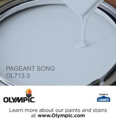 PAGEANT SONG OL713.3 is a part of the blues collection by Olympic® Paint.