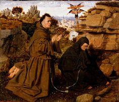 Jan Van Eyck Poster- Saint Francis Of Assisi Receiving The Stigmata