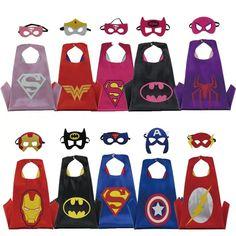 Christmas Halloween Superhero Cartoon Costume Hero Game Costumes Cape With Masks For Kids Birthday Cosplay Superhero Party Favors, Superhero Birthday Party, Boy Birthday Parties, Cartoon Costumes, Game Costumes, Super Hero Costumes, Superhero Cartoon, Superhero Capes, Hulk Party