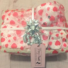 A baby girl gift to spoil the new arrival! Mother and Baby Girl Hamper from www.tinyfeethampers.co.uk #babygift #babygirl #babyshower