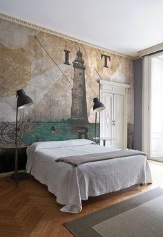 Wallpaper Model RISE Designed by Riccardo Zulato for Collection 16 | © London Art 2016  www.londonartwallpaper.com www.londonart.it