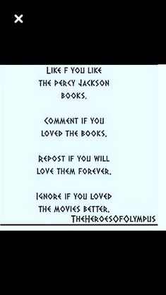 I will always love the books