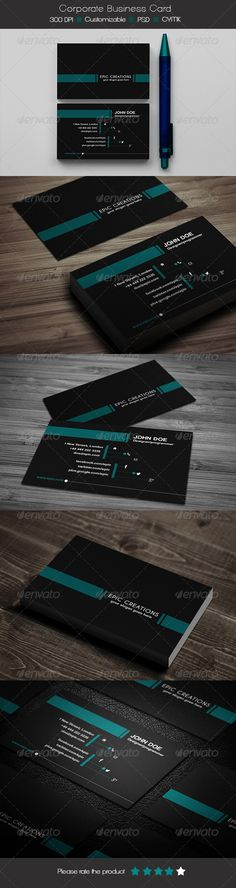 Corporate Business Card   #GraphicRiver