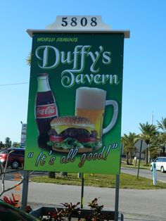 Great burgers - fun place to have lunch on Holmes Beach (Anna Maria Island, Florida)