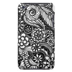 A unique Gardens #11 hand drawn art iPod case iPod Touch Covers