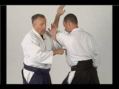 Aikido Basics: Wrist Lock Twist : Aikido Sankyo Rear Wrist Grab Defense - YouTube