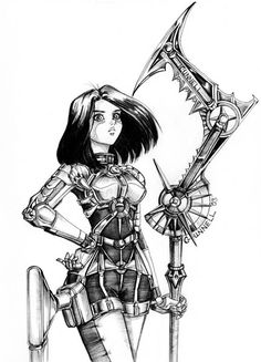 Alita Revamped by ~Chael