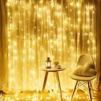 Shop for 304 LED Wall Lights Curtain String lights Outdoor String Light. Get free delivery On EVERYTHING* Overstock - Your Online Home Decor Outlet Store! Led Curtain Lights, Icicle Lights, Led Fairy Lights, Led Wall Lights, String Lights Outdoor, Star Night Light, Hippy Room, Cool Curtains, Inexpensive Wedding Venues