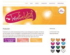 Troetelstof Website